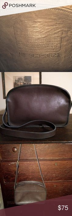 Vintage Coach Leatherware New York City Camera Bag Vintage Coach  Leatherware New York City Camera Bag in Brown. No hang tag. No dust bag.  New York City Bag. 645c1dacf8c3b
