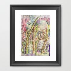 Bamboo Spirits Framed Art Print by crismanart
