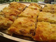 Spanakopita, Stuffed Mushrooms, Pizza, Cheese, Meat, Cooking, Ethnic Recipes, Food, Stuff Mushrooms