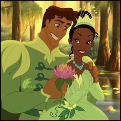 A Timeless Royal Legacy: Princess Tiana & Prince Naveen Join Disney Royalty! Walt Disney, Disney Princess Tiana, Disney Fan, Disney Nerd, Disney Couples, Disney Love, Disney Magic, Frog Princess, Prince Naveen