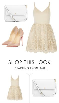 """Untitled #9"" by ridzley on Polyvore featuring Alice + Olivia, Tory Burch and Christian Louboutin"