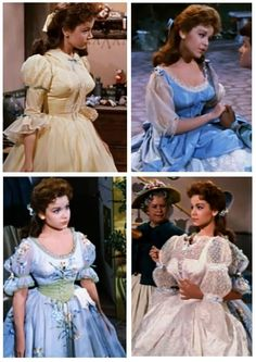 Mary Contrary's gowns: The stuff a little girl's dreams are made of. And maybe Tom Piper, too. (Babes in Toyland)