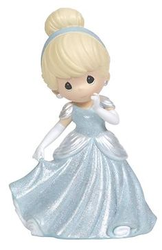 Precious Moments Disney Cinderella Rotating Musical Figurine Princess 124102 | eBay