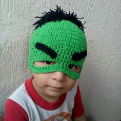 Gorro Hulk crochet