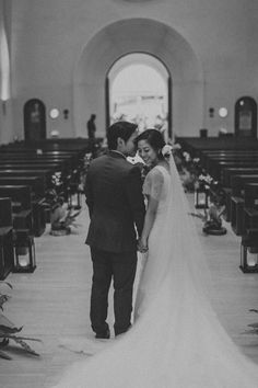 We're loving this classic black and white photograph of our bride Annabelle in our Hannah Kong bridal gown. Bridal Gowns, Wedding Gowns, Our Wedding, Wedding Shot List, Whimsical Fashion, Wedding Photography, Bridesmaid, Black And White, Classic