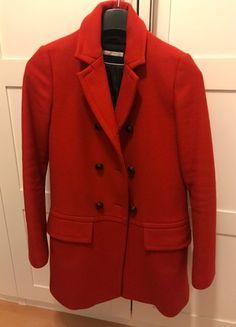 Kaufe meinen Artikel bei #Kleiderkreisel http://www.kleiderkreisel.de/damenmode/winterjacken/160615222-zara-roter-kurzmantel-xs-mantel-rot