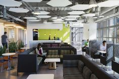 DES Architects + Engineers has designed GoDaddy's new office space in Sunnyvale, California