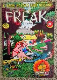 FABULOUS FURRY FREAK BROTHERS #3 by Gilbert Shelton, 1973. 1st printing. VF/NM | eBay Gilbert Shelton, Comic Books For Sale, Unknown Soldier, Years Passed, Light Covers, Teen Titans, See Photo, Spiderman, Brother