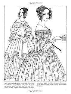 Renaissance Fashions Coloring Book | Renaissance fashion ...
