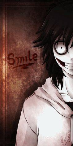 Jeff the killer Smile.