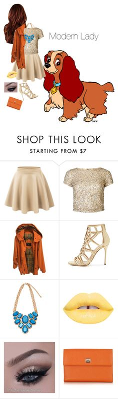 """""""Modern Lady"""" by loubear223 ❤ liked on Polyvore featuring LE3NO, Alice + Olivia, Burberry, Sergio Rossi, Pineider and modern"""