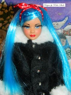 Ooak Christmas Party Vintage Skipper for sale now in my ebay store! Designs by Robin Studio