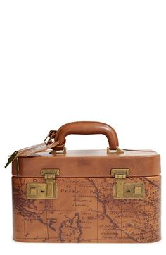 Patricia Nash 'Signature Map - Paradiso' Vanity Case available at #Nordstrom