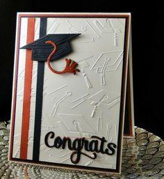 Graduation request April 2018 Designed and Createdg by Peggy Dollar Graduation Cards Handmade, Graduation Diy, Greeting Cards Handmade, Folder Decorado, Teacher Cards, Paper Cards, Cards Diy, Cricut Cards, Embossed Cards