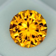 MJ1991 - 4.71ct Citrine - Brazil 11.53 x 7.22 mm clean, custom cut, standard heat, no irradiation, $125 shipped