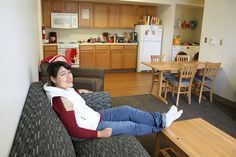 Union Street Center Apartments Have A Full Kitchen And Washer Dryer Indiana University Residential Programs