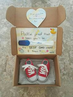 """Im positively excited to meet you daddy! "" Cute Idea for when I have a baby!"