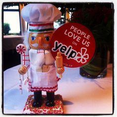 Woohoo! @yelp_vancouver says you like us, you really really like us :D #CookingNutcracker
