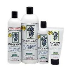 Cowboy Magic Detangler & Shine; one of the best mane and tail products out there