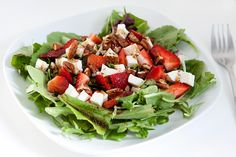 Armelle Blog: strawberry mozzarella balsamic salad ...
