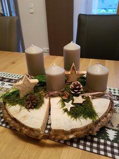 Burlap Christmas Tree, Christmas Tree Decorations, Table Decorations, Advent, Diy, Home Decor, Christmas Decorations, Christmas, Decoration Home
