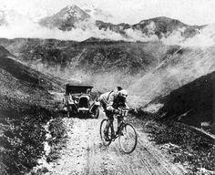 Tour de France 1924. 10-07-1924, 10^Tappa. Nizza - Briançon. Col d'Izoard. Ottavio Bottecchia (1894-1927)