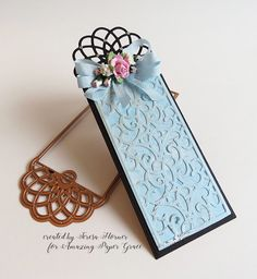 Victorian Paper Queen: A cute Victorian Bookmark
