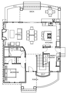 Wa Home 1 325 Sq Ft Nicely Done Transitional Floor Plan