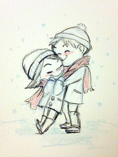 cute couple artwork