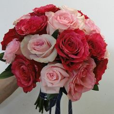 Pink Bouquet by Algarve Wedding Planners