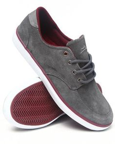 Lakai   Belmont Grey Suede Sneakers. Get it at DrJays.com