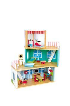 Venta Legler & Clicstoy / 21352 / Legler / Juegos de Imitación / Casa de Muñecas de Madera Desde 3 años