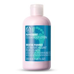 Buy Peppermint Cooling Foot Lotion from The Body Shop: Refresh and moisturize your feet with our minty cool foot lotion. Infused with English peppermint essential oil, this lotion will pamper and cool active feet, for beautifully soft results. The Body Shop, Body Shop Australia, Antibacterial Essential Oils, Body Odor, Foot Cream, Best Essential Oils, Natural Deodorant, Feet Care
