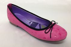 Pretty in Pink, these sweet leather flats will carry you through the summer. Now available at www.shoefun.com.au