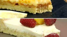 Zwei einfache Tartes Club Of Cooks, Panna Cotta, Cheesecake, Cooking, Desserts, Food, Pie, Coconut Flakes, Simple