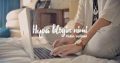 Millainen on hyvä blogin nimi? #bloggaaminen