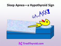 Sleep Apnea and Snoring are Hypothyroid Signs