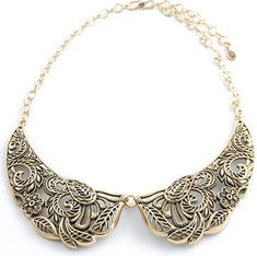 Barse Bronze Peter Pan Statement Necklace NECK380BZ - Shoebuy.com Events