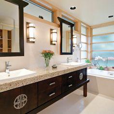 Delicieux Asian Bathroom Decor! Love The Sink! | My Dream Sanctuary | Pinterest | Asian  Bathroom, Sinks And Asian