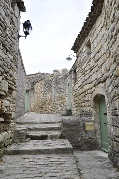 Oh to be able to walk streets that are 100's of years old.  La Coste, France