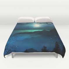 Wish You Were Here (Chapter V) duvet cover bedroom decor by Viviana Gonzalez