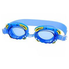 3d06d2e2740 Vnfire Antifog UV Protection Children Kids Youth Cartoon Crab Sports Swimming  Goggles Swim Glasses Rubber with