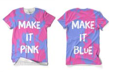 Sleeping Beauty - Make it Pink/Blue shirt