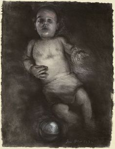 pixels Jim Dine second baby drawing Baby Drawing, Pastel Drawing, Life Drawing, Figure Painting, Figure Drawing, Painting & Drawing, Neo Dada, Jim Dine, New York Art