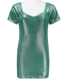 BKE Heathered Foil Top - Women's Shirts/Tops | Buckle
