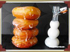 Donuts glaseados (receta mejorada)