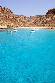 Cala Pulcino   Lampedusa