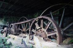 1º Patamar ou Casa de Maquinas da Funicular-Cubatão | Construída em 1901 e abandonada em 1981