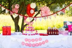 fun outdoorsy little girls birthday party