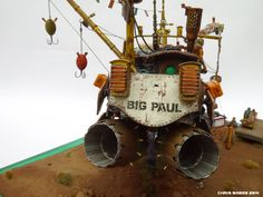 Industria Mechanika   Original GK Design Resource_Chris Babes 'Big Paul' - [Ian McQue's 'Remora']